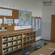 Klassenraum einer E-Klasse