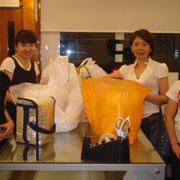 2009/8 パン教室スタート時の卒業生たち