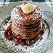 Fluffy Flourless Banana Pancakes