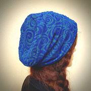 spiraledance in Blaugrün