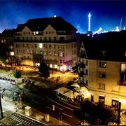 Feuerwerk 2019 Grosse Kirmes Düsseldorf Oberkassel Dach Praxis Annette Gralke