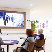 Exhibition Design for for senior care facility in Munich, Germany