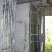 Tor des rechten Bunkerraums