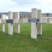 Grab von Eugene JeanJean, der am 2. Weihnachtstag 1914 fiel