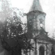 ehemalige Dorfkirche vor dem Krieg