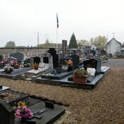 Der Zivilfriedhof in direkter Nachbarschaft