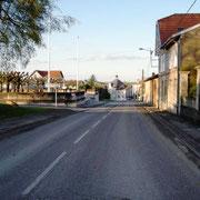 Blick in die alte Ortschaft