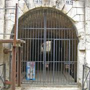 Haupteingang - leider war das Fort an diesem Tag geschlossen