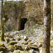 Eingang des Wachhauses