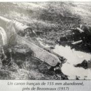 französisches 15,5cm Geschütz