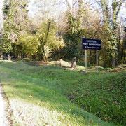 Standort des ehemaligen Dorfes