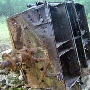 französischer Munitionswagen