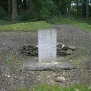 Die Wasserquelle - während der Kämpfe war dies für die Deutschen die einzige Quelle in dem Bereich. Daher wurde sie auch stark unter frz. Artilleriebeschuss genommen. Entsprechend hoch waren die Verluste