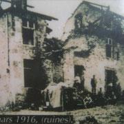 Das Schloss während der deutschen Besatzung