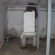 Bunkerräume - Feuerstelle