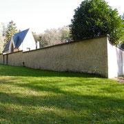 Kapelle und Friedhof