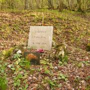 Grabstelle von Pierre-Marie Coppin, der hier am R1 am 06.06.1916 gefallen ist