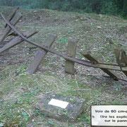 deutsche 60cm Schiene