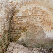 Das Innere des Wachhauses