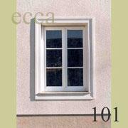 ecca Bild 101: einfache Fensterumrandung mit Profilstab