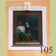ecca Bild 105: Umrandung mit Fertigprofil und Schlussstein