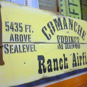 Comanche Springs, Vintage Sign, Handcrafted by Man Cave Signs & Co.