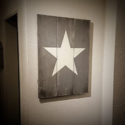 White Star, Vintage Sign, Handcrafted by Man Cave Sign & Co.
