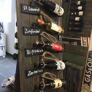 Wine Rack, Industrial Style