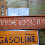 Remove Before Flight, Vintage Sign, Handcrafted by Man Cave Signs & Co.