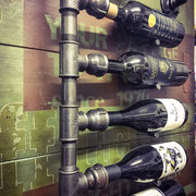 Wine Rack, Buffalo Joe, Industrial Style