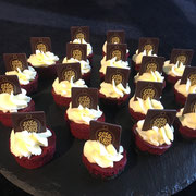 Red Velvet Cheesecake mini