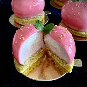 Vanillemoussetörtchen mit Panna-Cotta