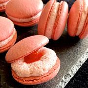 Macarons Erdbeer