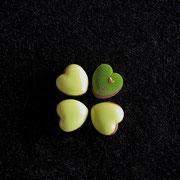 Glücksklee Apfelmoussetörtchen