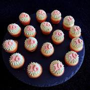 Orangen Pistazien mini Cupcake