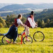 Tradition und Mobilität mit dem Tretroller