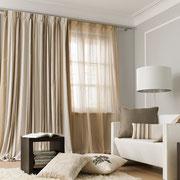 Vorhang und Möbelstoffe für modernes Wohnen.