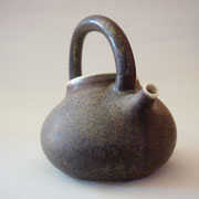 Hand-thrown porcelain teapot 2013