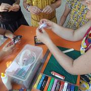 Ecole Sainte MArie : origami