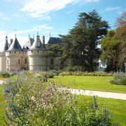 Kasteel en tuinen festival Chaumont sur loire