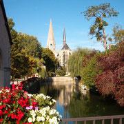 L'abbaye de la trinité Vendôme
