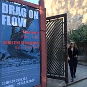 DRAG ON FLOW Christine Straszewski und Silja Yvette in Peking, 798 Art District, 2016