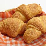 Handgemachte Buttercroissant nach original französischem Rezept