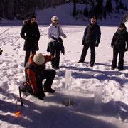 Schweiz - Interlaken - Incentive - Eisfischen - Teambuilding