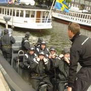 stockholm - powerbootfahren