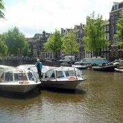Amsterdam - Grachten - Kanalfahrten -