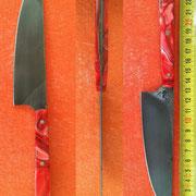 Nr.: 2-2015, Küchenmesser aus Wolframstahl