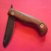 """F4,"""" Friktion Folder"""", Stahl 1.3505, gesamt: 18cm, Klinge 8cm, 3mm stark,Klinge geäzt mit FSC3"""