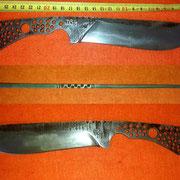 Nr.) D54Campknife, Stahl 1.2552