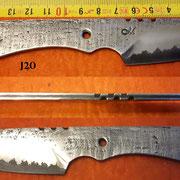 "Nr.) J20 ""3-Lagenklinge""  VA-Carbon-VA"